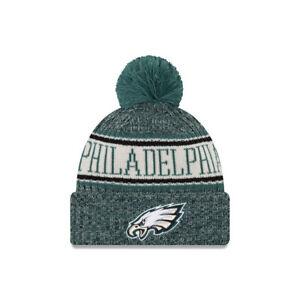2717bf0215b595 New Era NFL Philadelphia Eagles Bobble Sport Knit Sideline Beanie ...