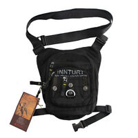 Men Fanny Pack Waist Leg Thigh Drop Bag Hiking Ride Motorcycle Messenger Pack