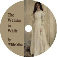 The Woman In White, A Wilkie Collins Mystery & Suspense Audiobook On 2 Mp3 Cds