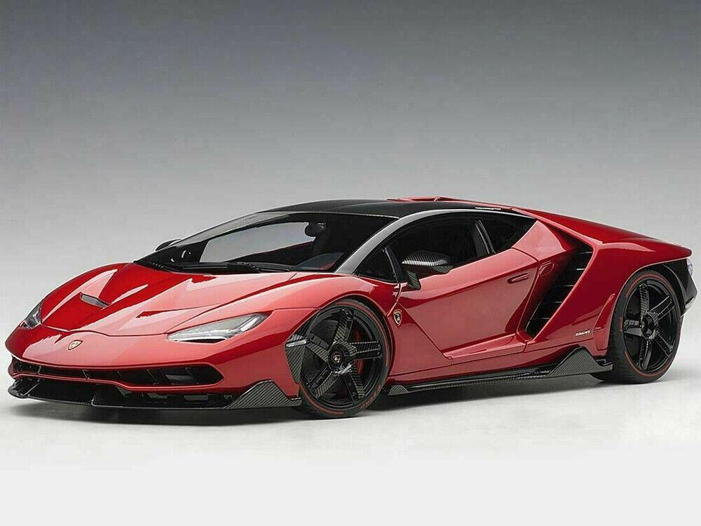 AUTOart 79112 Lamborghini Centenario 1 18 Model Car red Efesto   Metallic Red