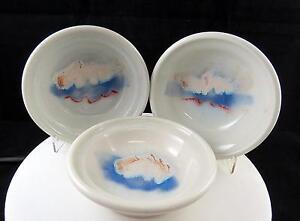 Art-Ceramica-3-Pieza-Rueda-Lanzado-Azul-y-Blanco-Cloud-Diseno-14-9cm-Cuencos