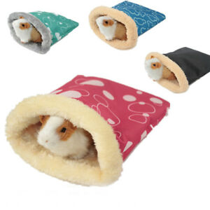 Small-Animals-Warm-Plush-Hamster-Bed-House-Soft-Guinea-Pig-Rat-Nest-Sleeping-Bag