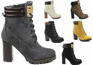 Hoher Absatz Damenschuhe Plateau Boots Zu Stiefel Stiefeletten Schuhe Winter Damen Details zpSVqUM