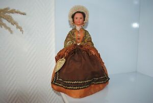 100% De Qualité (n°14) Ancienne Poupee Folklorique Doll Petitcollin Le Minor Adelais D'albi 156