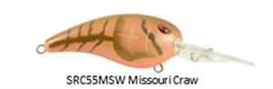 "SPRO Rk CRAWLER 55  /""Missouri Craw/"""