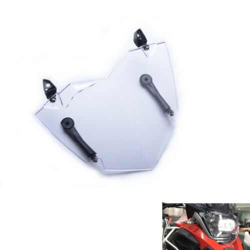 For BMW R1200GS ADV WC 13-17 Clear Front Headlight Guard Cover Lens Protector