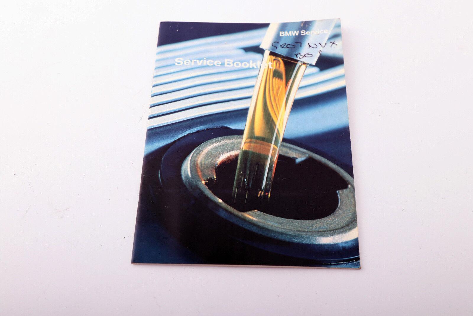 BMW 1 Série E81 E87 LCI Owner/'s Handbook Manual Pouch Wallet Case