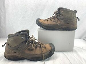 0a49dd63cba Details about Men's KEEN Targhee Exp Waterproof Mid Wide 1018120 Bungee  Cord/Brindle SIZE 11.5