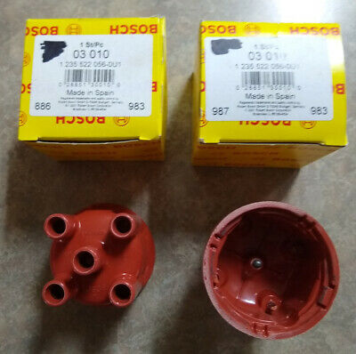 VW Volkswagen 1600 Beetle Bus Ghia Thing Distributor Cap BOSCH 03010