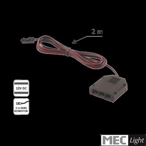 mini-connecteur port 3er distributeurs-Femelle pour Mini-Connecteur avec câble 2m