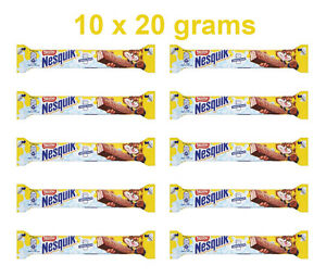 10-x-Nestle-NESQUIK-Crunchy-Chocolate-Wafer-Bars-10-x-20g-0-7oz