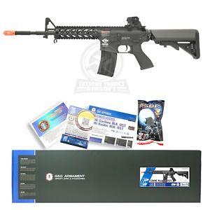 G-amp-G-CM-Black-Airsoft-RIS-Raider-Long-M4A1-M16-AEG-Auto-Metal-Electric-Rifle-Gun
