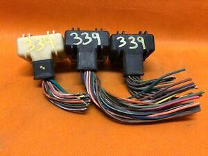 98 DODGE RAM TRUCK 3.9 V6 ECM ECU PCM WIRING HARNESS PLUGS CONNECTORS  56046339AC | eBayeBay