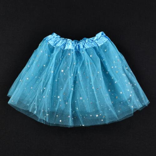 New Girls Kids Tutu Party Ballet Dance Wear Dress Skirt Pettiskirt Fancy Costume