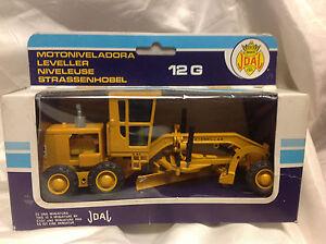 Joal-Caterpillar-Leveler-Grader-12-G-Model-217-MADE-IN-SPAIN-BLUE-BOX
