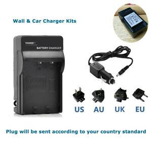 USB Cargador de Batería para Pentax Optio A10 A20 A30 A36 A40 S4 S4i S5i S5n S5z Nuevo
