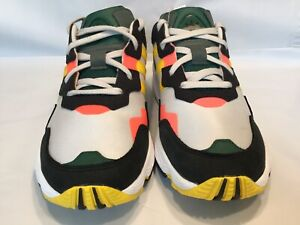 Details zu adidas Originals Yung 1 Mens Green Gold Red Sneakers Shoes DB2605 size 9.5
