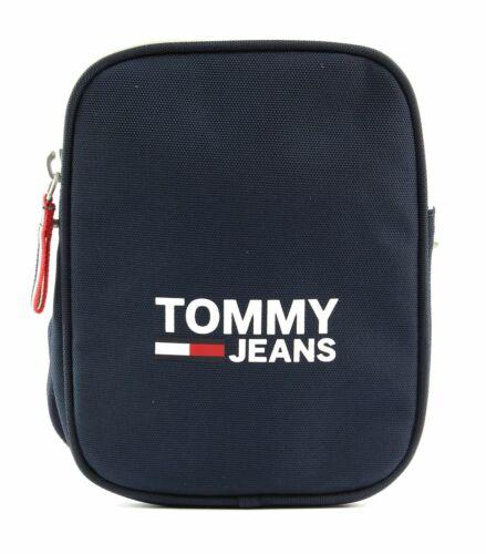 TOMMY HILFIGER TJW Cool City Compact Umhängetasche Tasche Black Iris Blau Neu