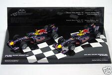 412100506 Minichamps 1:43 Formula One F1 2010 RedBull Racing RB6 Vettel & Webber