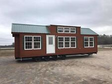 2017 NATIONAL12x35-2BR/1BA RUSTIC CABIN PARK MODEL TINY HOME- ALL South Carolina