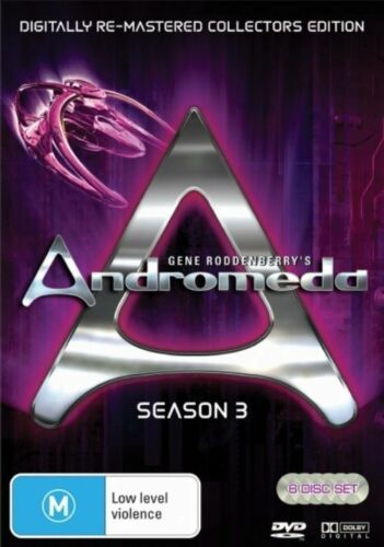 1 of 1 - ANDROMEDA - SEASON 3 - REMASTERED EDITION (6 DVD SET) BRAND NEW!!! SEALED!!!