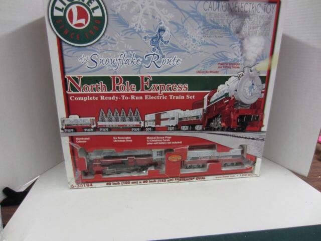 Lionel North Pole Express Gondola Christmas Trees Train O Gauge Polar 6 30194 G