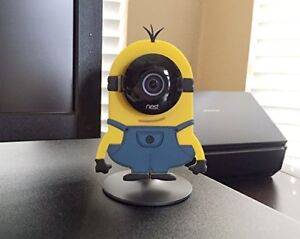 Minion Camera Case : Nest cam decor camera camouflage cover skin case disguise minion