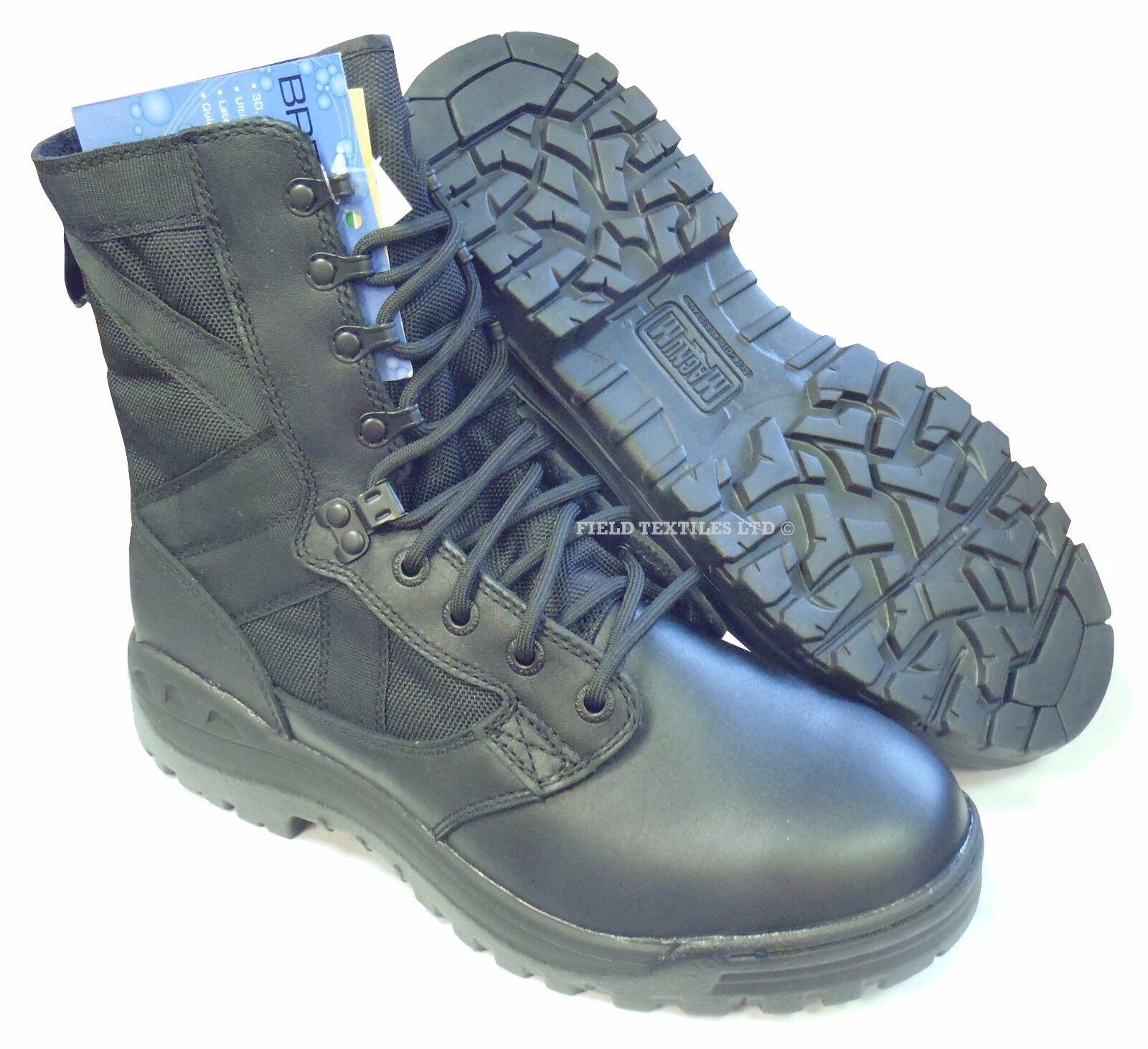 BRITISH ARMY - MAGNUM Negro 14 PATROL botas - Talla 14 Negro MEDIUM - NEW IN BOX f711da