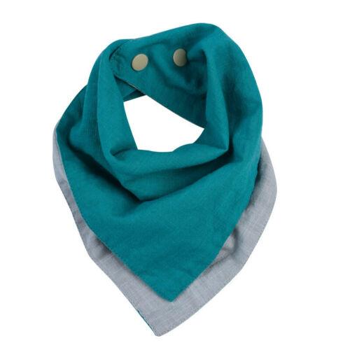 Kids Baby Feeding Head Scarf Towel Bib Boy Girl Bandana Soft Dribble Towels Y2