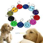 Pet Dog Cat Personalized Charm ID Tags Custom Engraved Paw Bone Stainless Steel