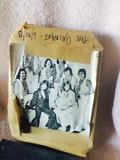 The Gringos Band Vintage Printers Block Used For Printing FLV Magazine 1973