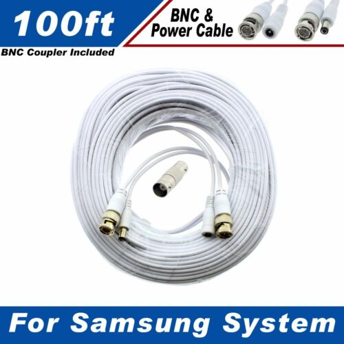 100ft Premium Cable for Samsung SDC-9443BC 1080P HD BNC Camera