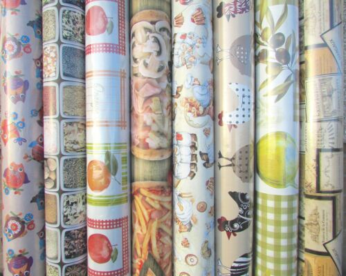 Wipe Clean Tablecloth Oilcloth Vinyl PVC Many Designs /& Colours Foods 140cm wide