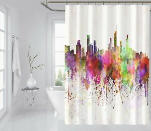 3d Dolphin Sunshine Shower Curtain Waterproof Fiber Bathroom Home Windows Toilet Shower Curtains