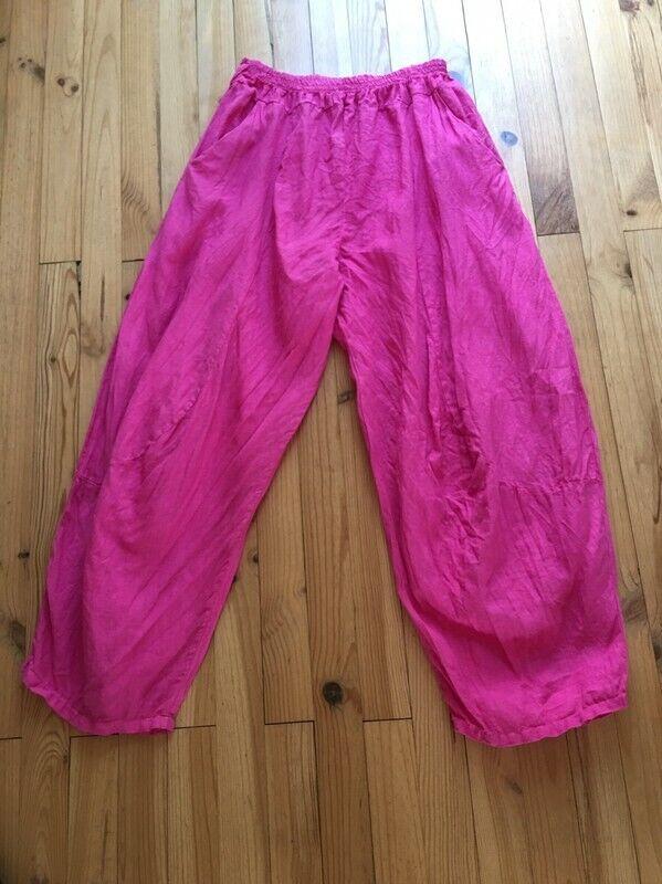 Pantalon Pantalon Pantalon créateur italien 100 % lin Dimensione 40 42 44 46 48 50 21c664