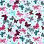 Papillon 100/% Tissu De Coton Enfants Blanc Rose Bleu Menthe Animaux