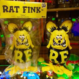 Rata-Fink-Amarillo-Super-Vinilo-Coleccionable-Dune-Nudillo-Toy-Hecho-en-Japon-De