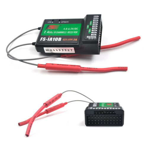 Flysky FS-TM10 2.4Ghz 10CH RC Transmitter with IA10B Receiver For RC Helicopter