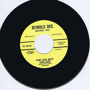 LEON-JAMES-BABY-LET-039-S-ROCK-THINKIN-039-ABOUT-YOU-HOT-ROCKABILLY-BOPS-REPRO