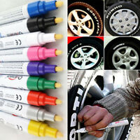 8 Color Paint Marker Pen Tire Rubber Metal Glass Wood Stone Waterproof Oil Pen