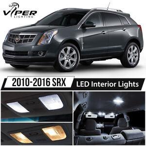 Image Is Loading 2010 2016 Cadillac Srx White Led Interior Lights