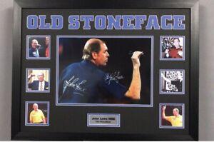 John Lowe Large  Signed framed montague