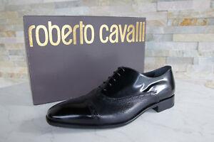 Roberto-Cavalli-TAGLIA-40-5-normalissime-Scarpe-Basse-Scarpe-Nero-Nuovo-ehemuvp-370
