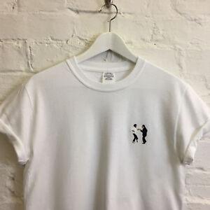 Pulp Fiction Dance Tarantino White Long Sleeve Tee T-shirt by Actual Fact