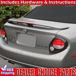 For 2000 2001 2002 2003 Nissan Maxima Factory Style Spoiler Wing W Led Unpainted Ebay