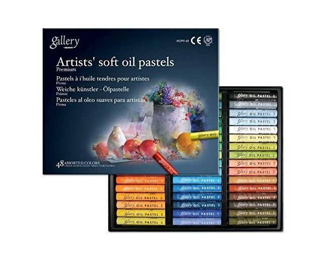 Ölpastellkreiden 12,24,36,48 ou 72 Mungyo Gallery Artist/'s Soft Oil Pastels