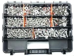 STAINLESS-NUT-amp-BOLT-KIT-300pc-SUIT-NISSAN-PATROL-NAVARA-X-TRAIL-UTE-4x4