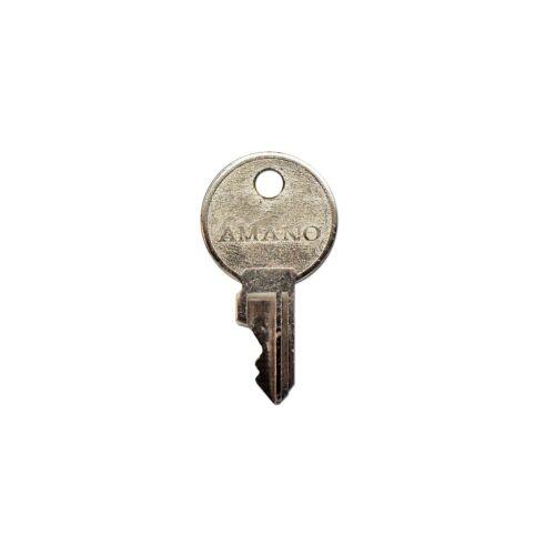 Ersatzschlüssel für Stempeluhr Amano 500