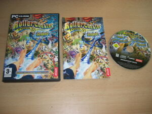 ROLLERCOASTER-TYCOON-3-SOAKED-Pc-Cd-Rom-ROLLER-COASTER-Add-On-Expansion-Pack