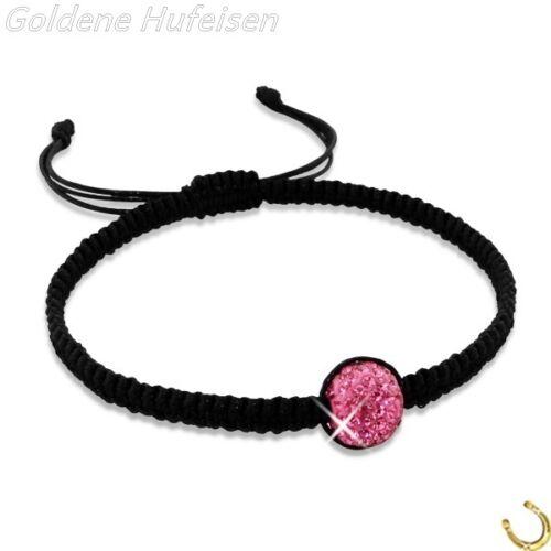 Kinder Shamballa Armband Kristall Verstellbar Top Geschenkidee z-497